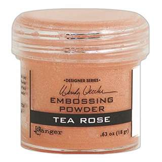 Ranger Embossing Powder - Designer Series (Wendy Vecchi) : Tea Rose