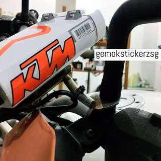 KTM IU UNIT DECAL