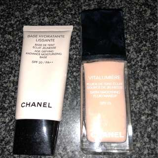 Chanel Primer and liquid foundation bundle