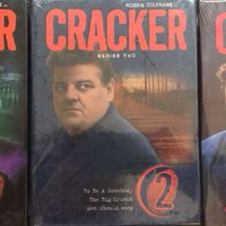 All 3 Seasons of CRACKER with Robbie Coltrane