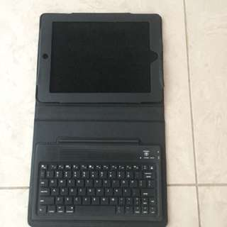 iPad cover with keyboard