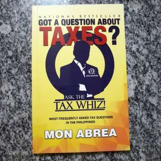 Ask The Tax Whiz by Mon Abrea (signed copy)