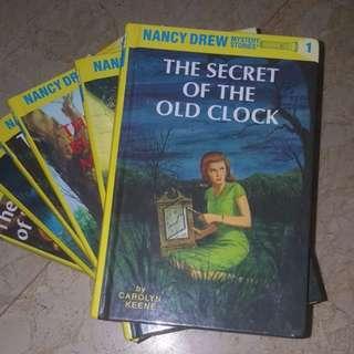 ( 2 books left ) Nancy Drew by Carolyn Keene