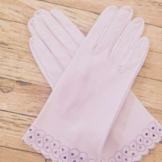 Kid leather gloves from Florence, Italy