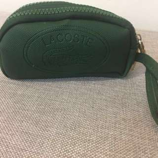 LaCoste Green Small Toiletries Bag