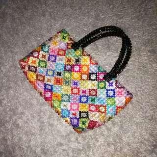 Colorful Beads Handbag