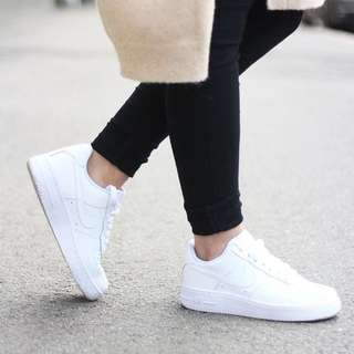 White Nike Air Force 1s, 7