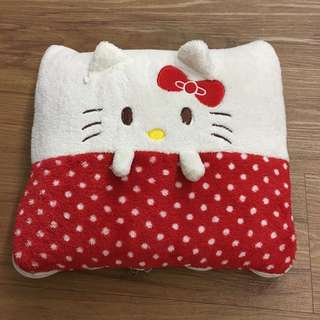 Hello kitty blanket pillow