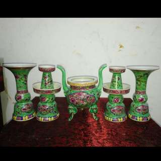 Nyonya Altar Prayer Set