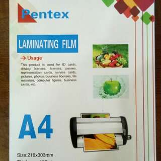 A4 Laminating Pouch 100s/box
