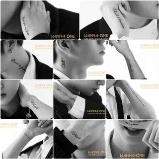 [NON PROFIT GO] Wanna One Upcoming March Comeback Album