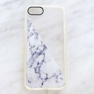 iPhone 7 marble and clear case