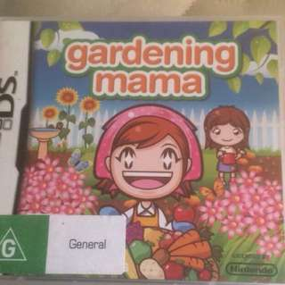 'Gardening Mama' DS Game