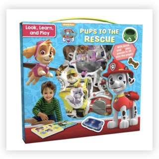 NICKELODEON PAW PATROL LOOK, LEARN AND PLAY: PUPS TO THE RESCUE PAW Patrol