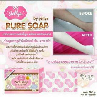 Very Effective, tried and tested (fast whitening effect) ORIGINAL PURE SOAP WHITENING SOAP