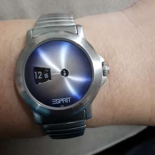 Authentic esprit watch srainless 50 meters