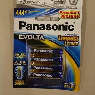 Panasonic Evolta 4× AAA Premium Alkaline Battery