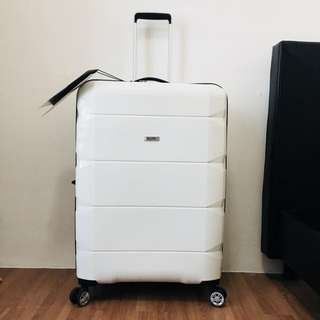 Skylite White Large Luggage 29.5 kg [Brand New]