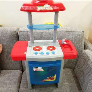 Kitchen cooking set for kid
