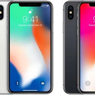 香港行貨Csl 購買全新apple iPhone X 64GB$8088 256GB$9288 黑白兩色任揀仲要跟單有保養再包送貨