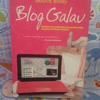 Novel Blog Galau