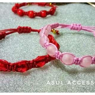 Friendship bond bracelets