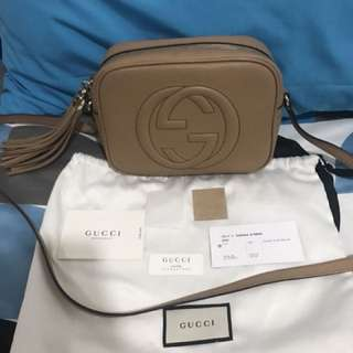 Authentic Gucci Soho Disco Bag