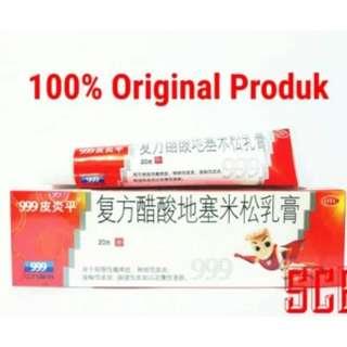 Salep 999 (UntukSalep 999 Piyan Ping Original  Membantu Mengobati penyakit kulit seperti gatal- gatal, biang keringat, dan alergi  Mengobati penyakit kulit yang disebabkan oleh jamur seperti panu, kadas, kudis, kurap DLL.  Mempercepat Penyembuhan Kulit)