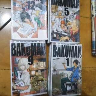 Komik Bakuman 1-15 Ongoing - Tsugumi Ohba & Takeshi Obata