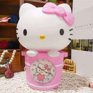 Hello kitty Lampshade w/ clock