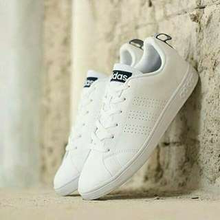 Adidas Neo Advantec Clean Triple White Original