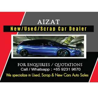 Scrap car/ new used car