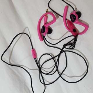 Avia hot pink headphones