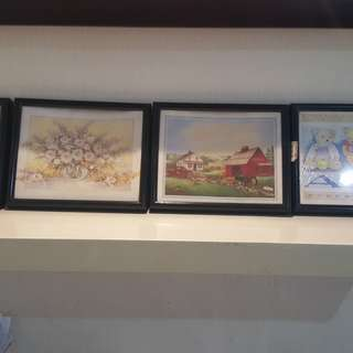 Painting (set of 4)