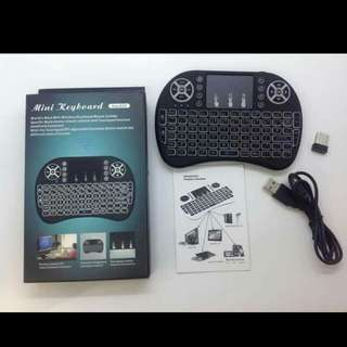 📌wireless mini keyboard 📌rechargeable 📌for:xbox360/ps3 📌smartphones(need OTG)/smart TVs/PC/notebooks 📌tablets/android TV box 📌up to 10meters operational range 📌146.8*97.5*19mm 📌110g weight