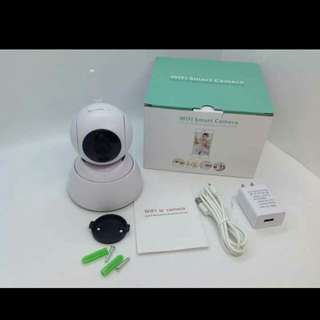 📌ipcam(cctv) 📌720p 📌night vision 📌360 left right rotation 📌90 up down rotation 📌built-in microphone and speaker 📌apps name icsee