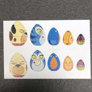 Pixar Toy Story Postcard
