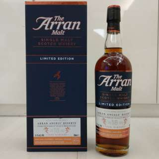 Arran Angels Reserve 18 Year Single Malt Whisky (Limited Edition 限量推出 1188枝) 威士忌 Whisky