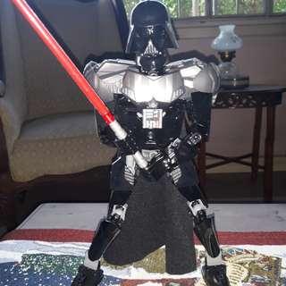 Pre-built Lego Darth Vader