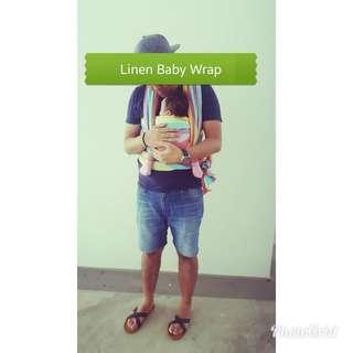 5 metres Linen Baby Wrap