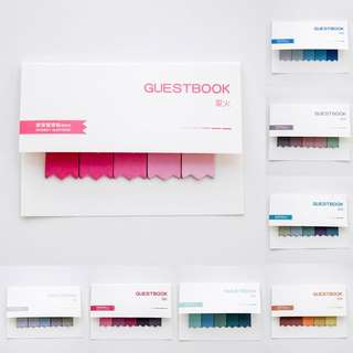Gradient Color Creative Post It Sticky Notes Memo