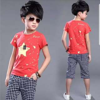 Boy Shirt and Pants Set (8 years old)