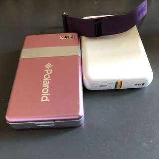 Polaroid zink printer / Fitbit watch