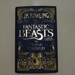 Fantastic Beasts and Where To Find Them (The original screenplay)