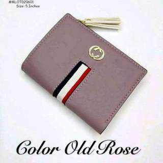 Leather wallet size : 5 inches