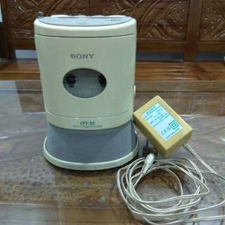 Sony radio cassette player