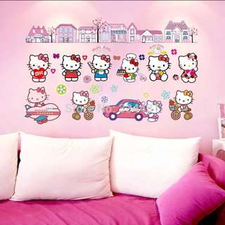 Hello Kitty Wall Stickers