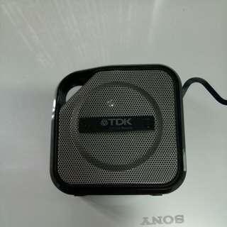Authentic TDK bluetooth speaker