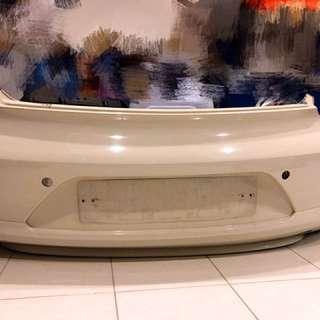 VW Volkswagen scirocco rear bumper