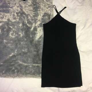 Cute Urban Outfitters Black Dress